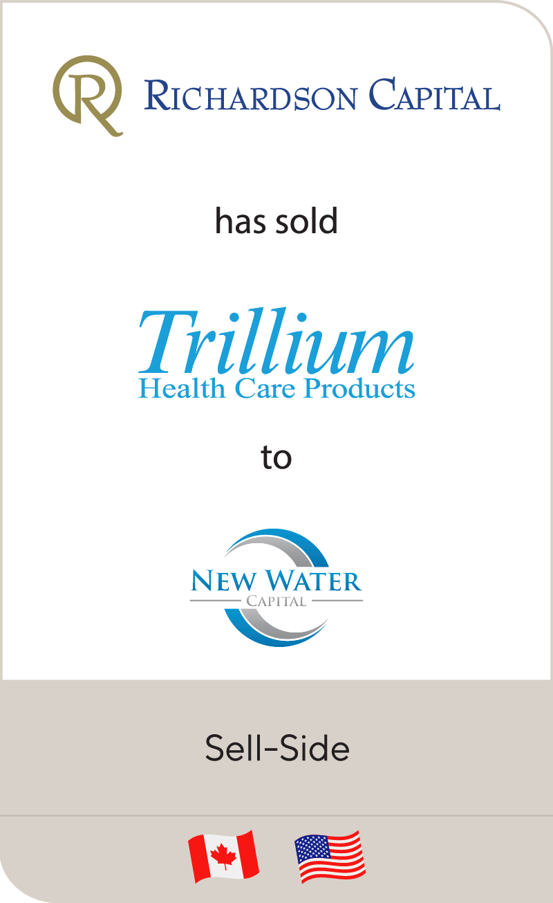 Richardson has sold Capital Trillium to New Water