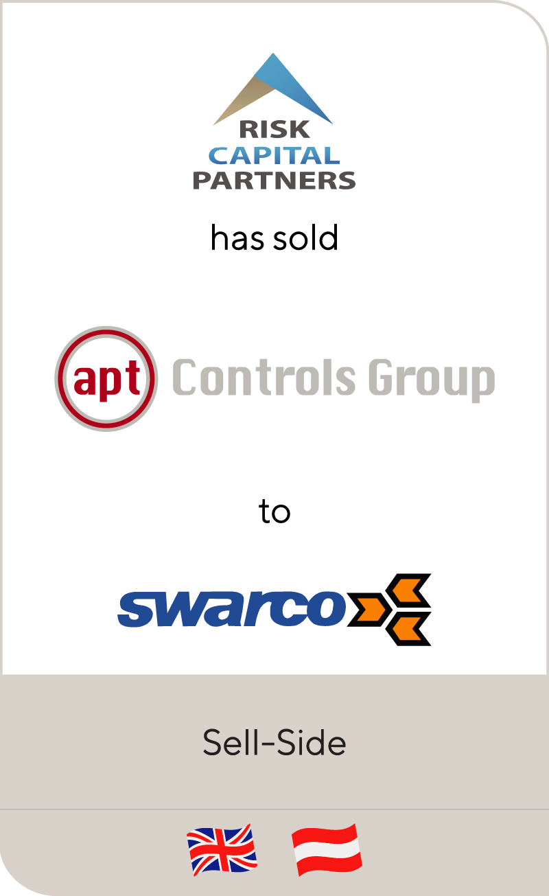 Risk Capital Partners has sold Apt Controls Group to Swarco