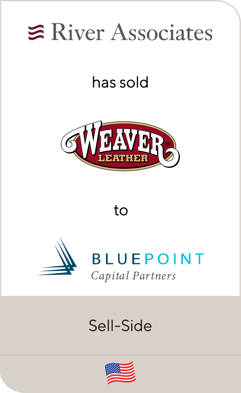 River Associates Weaver Leather Blue Point Capital Partners 2021