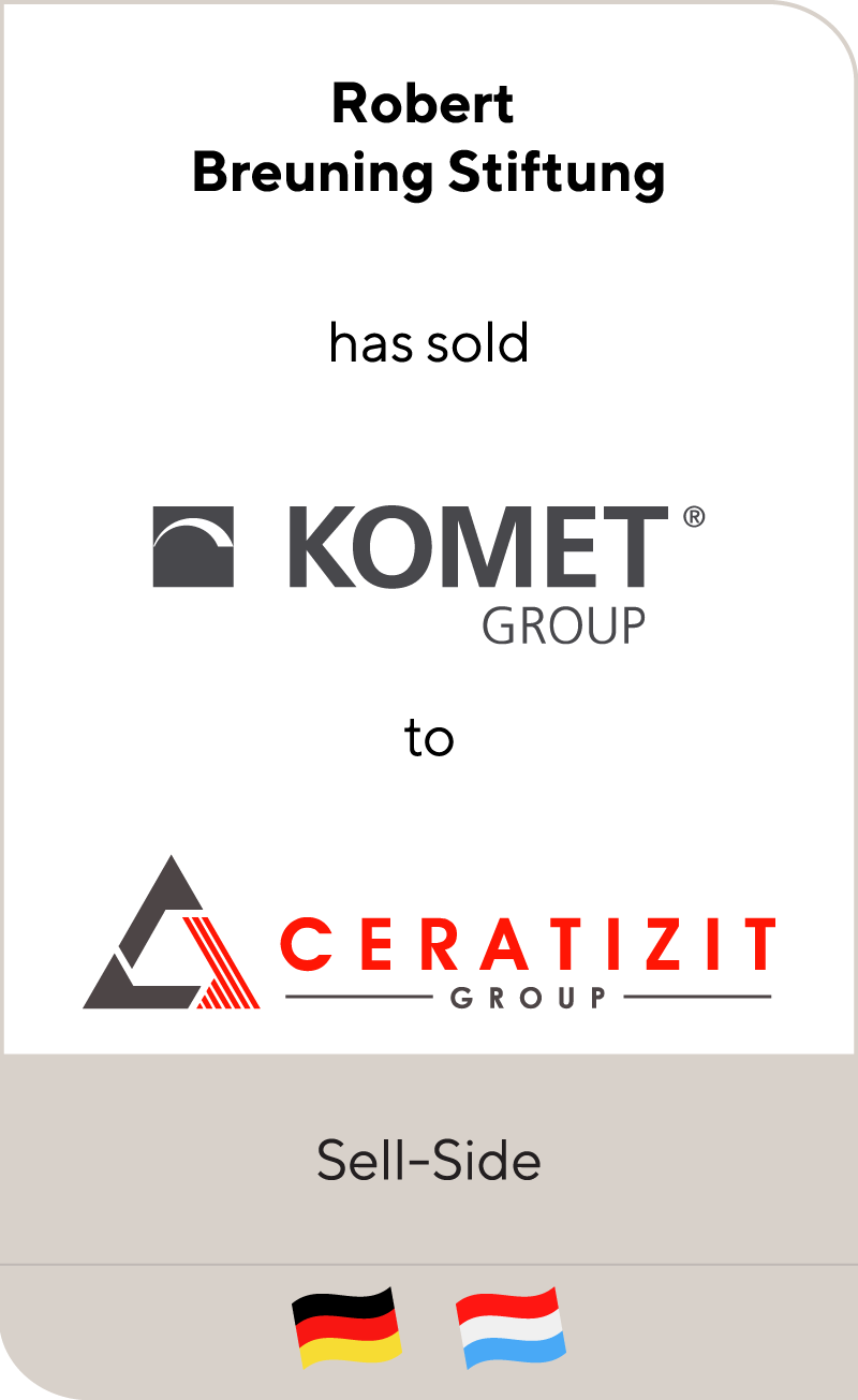 KOMET Group has been sold to Ceratizit