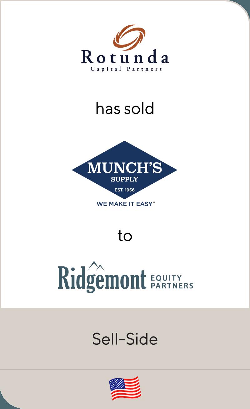 Munch's Supply, a portfolio company of Rotunda Capital