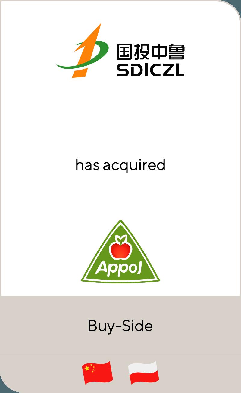 SDIC Zhonglu Fruit Juice Co., Ltd has acquired Appol Group