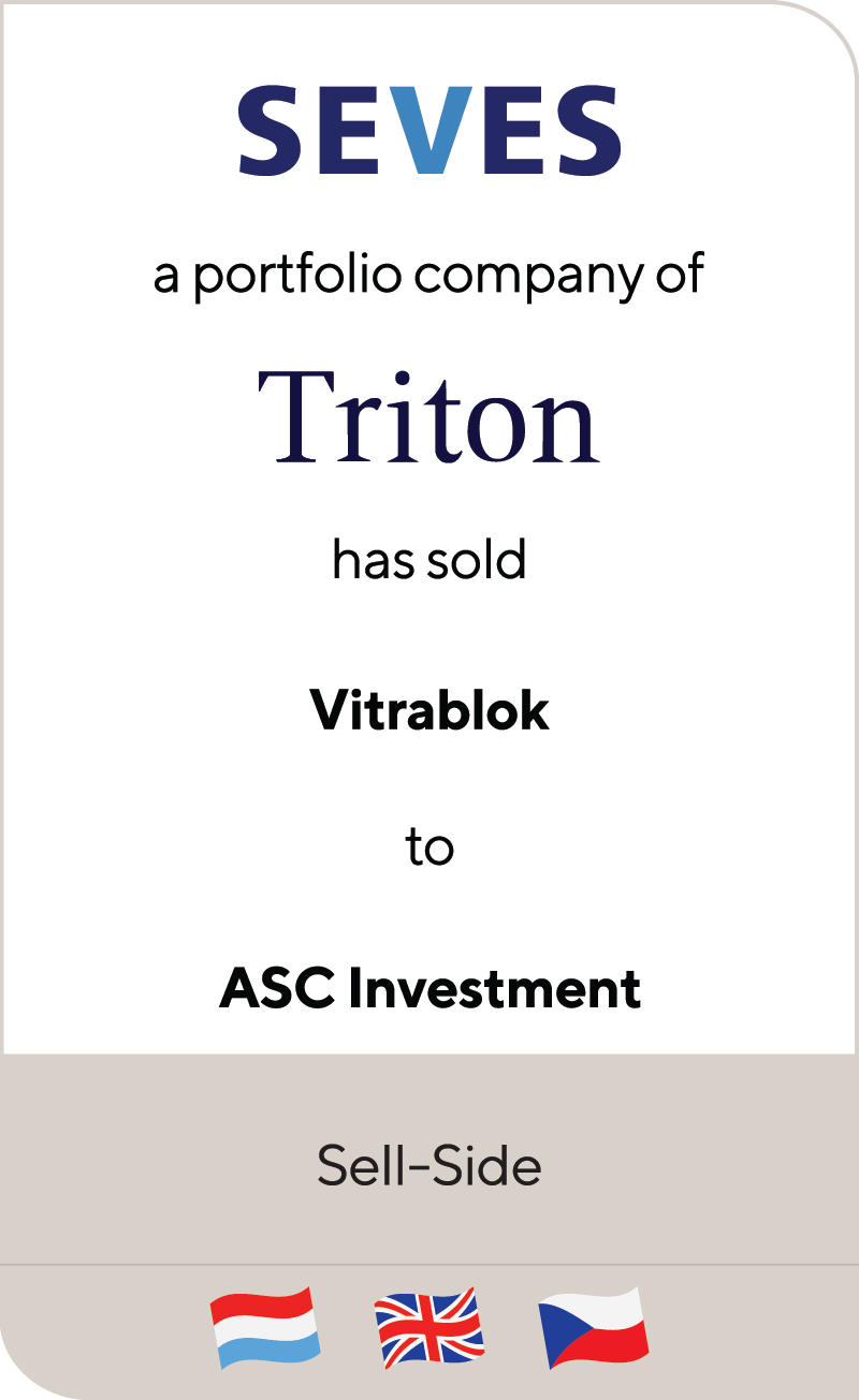 SEVES Triton VITRA BLOK ASC Investment 2018