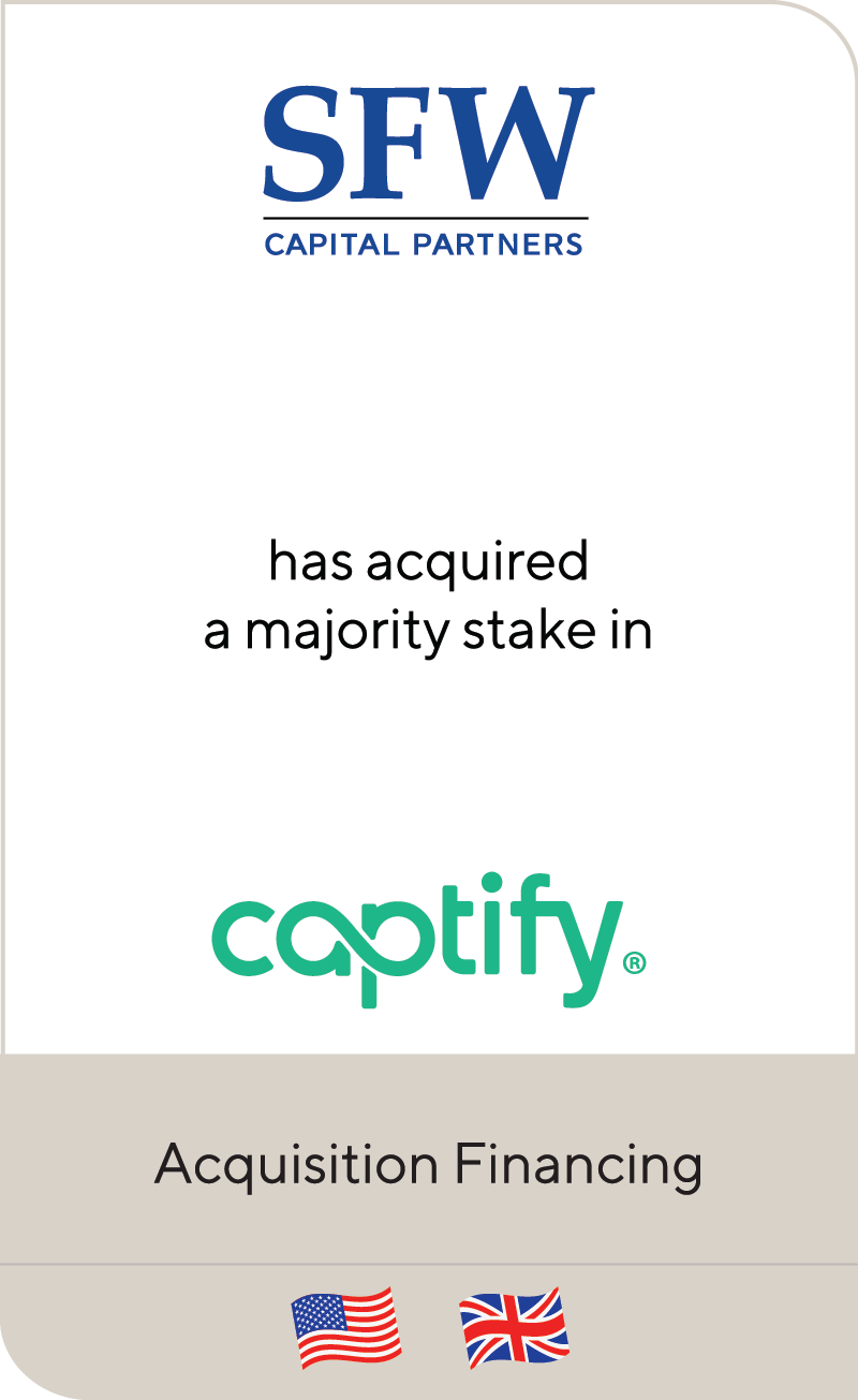 SFW Capital Partners Captify 2021