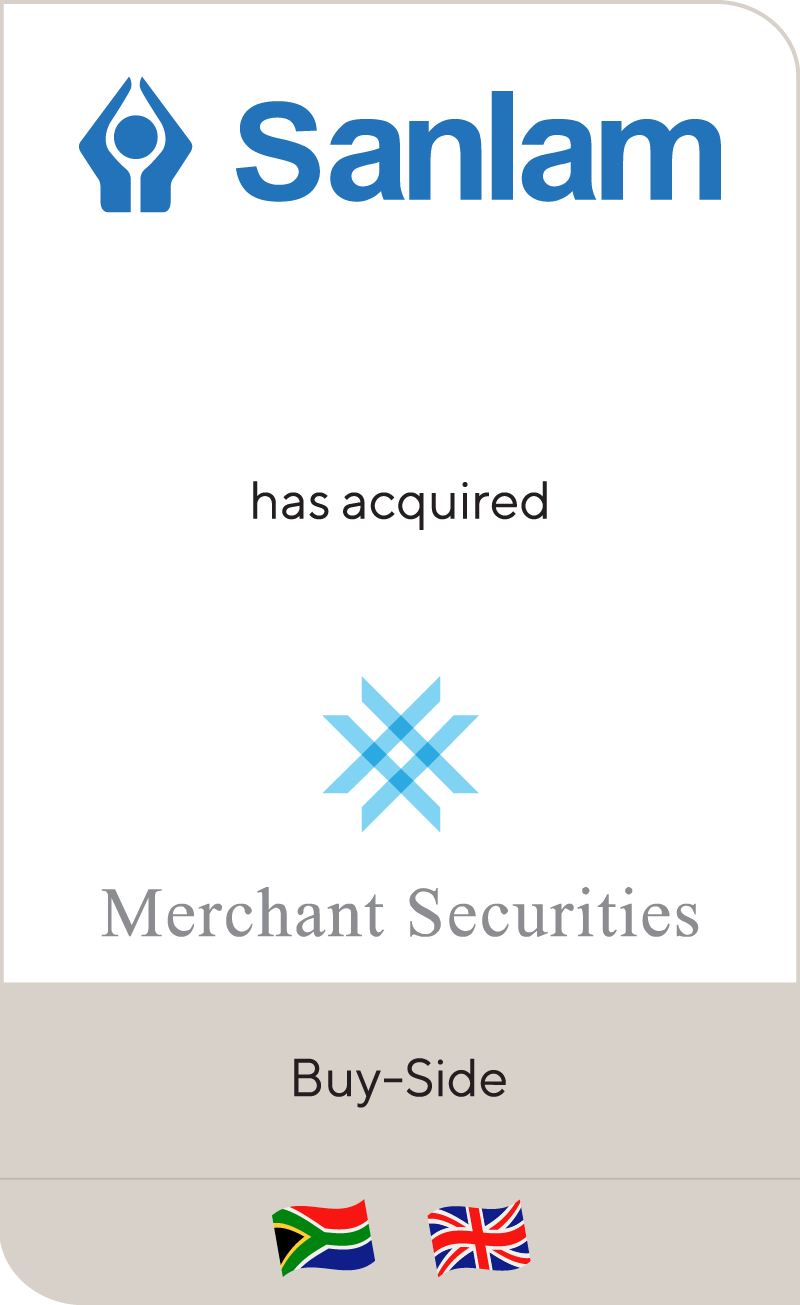 Sanlam has acquired Merchant Securities