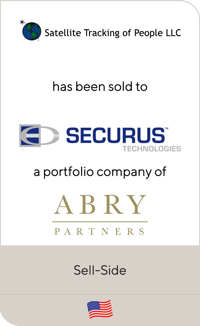 Satellite Tracking of People LLC has been sold to Securus Technologies, a portfolio company of Abry Partners