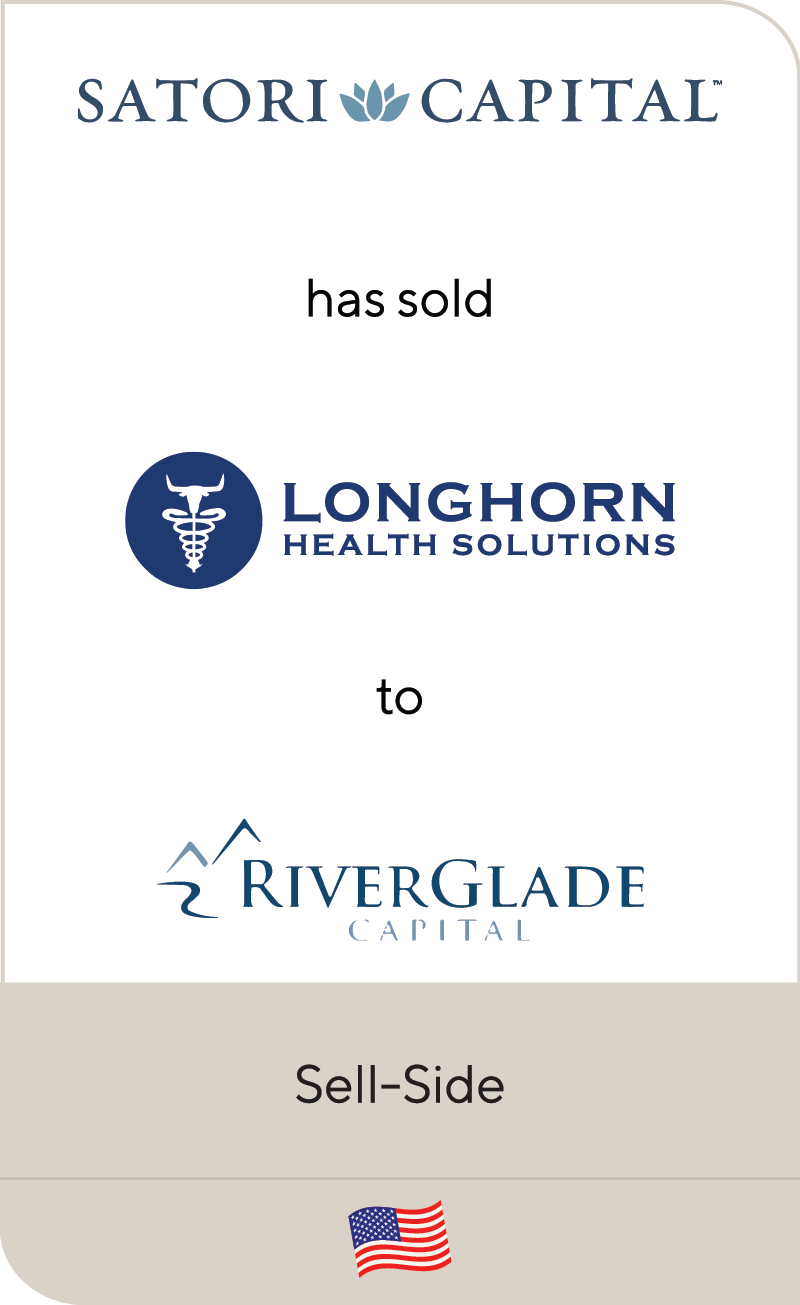 Satori Captial Longhorn Health Solutions Riverglade Capital 2020