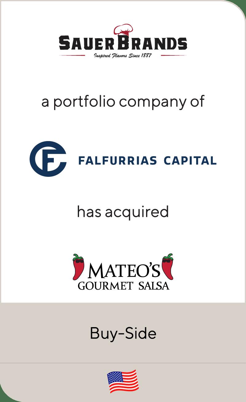 Sauer Brands Falfurrias Capital Mateos Gourmet Salsa 2021