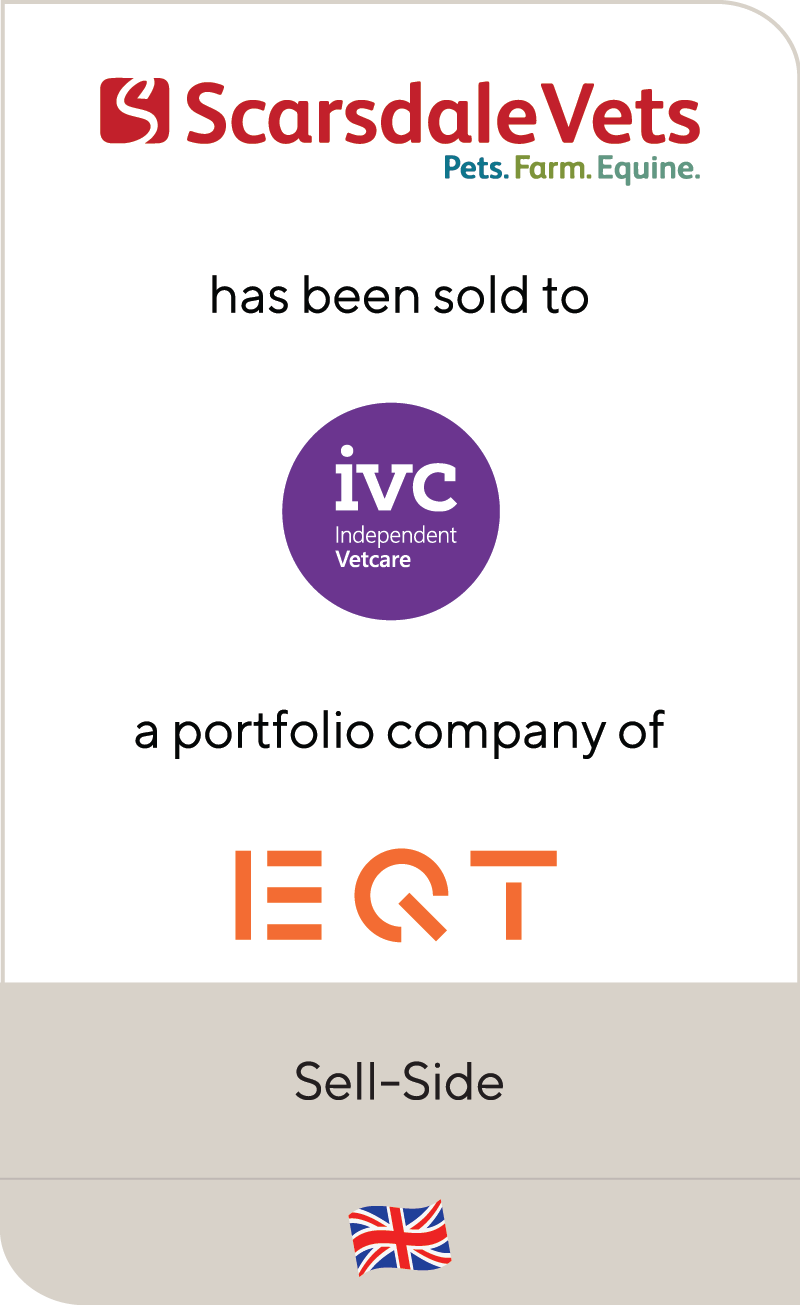 Scarsdale Group IVC Independent Vetcare EQT 2019