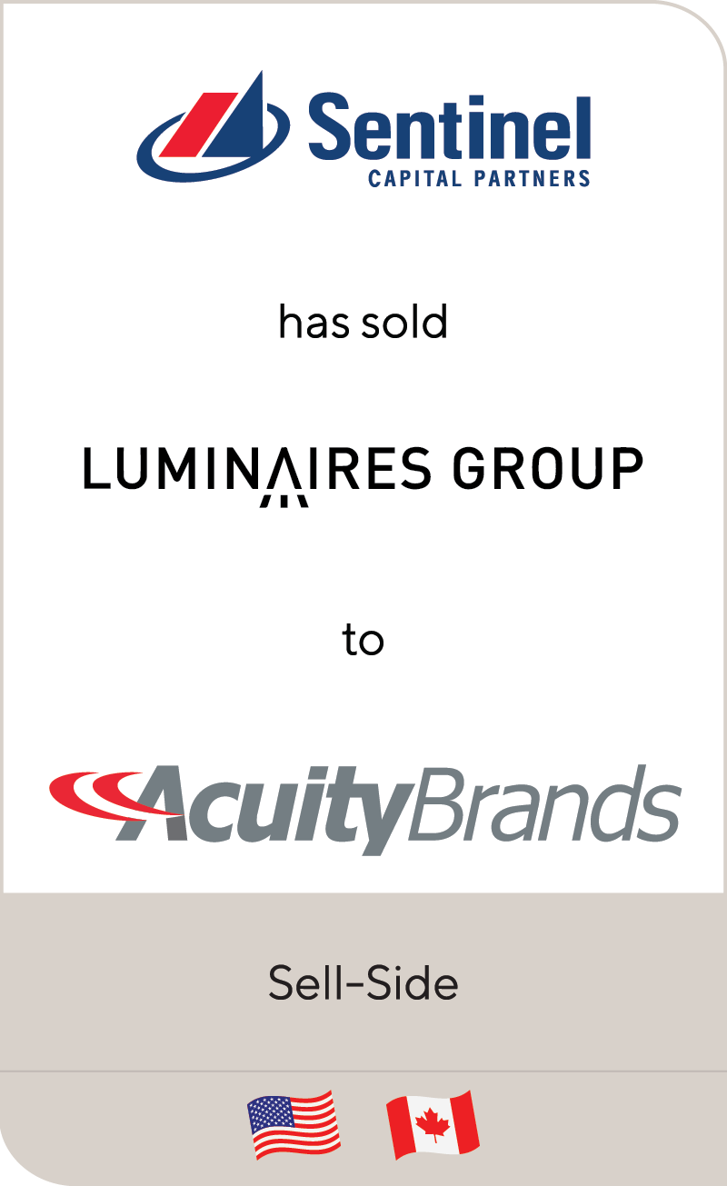 Sentinel Luminaries Acuity 2019