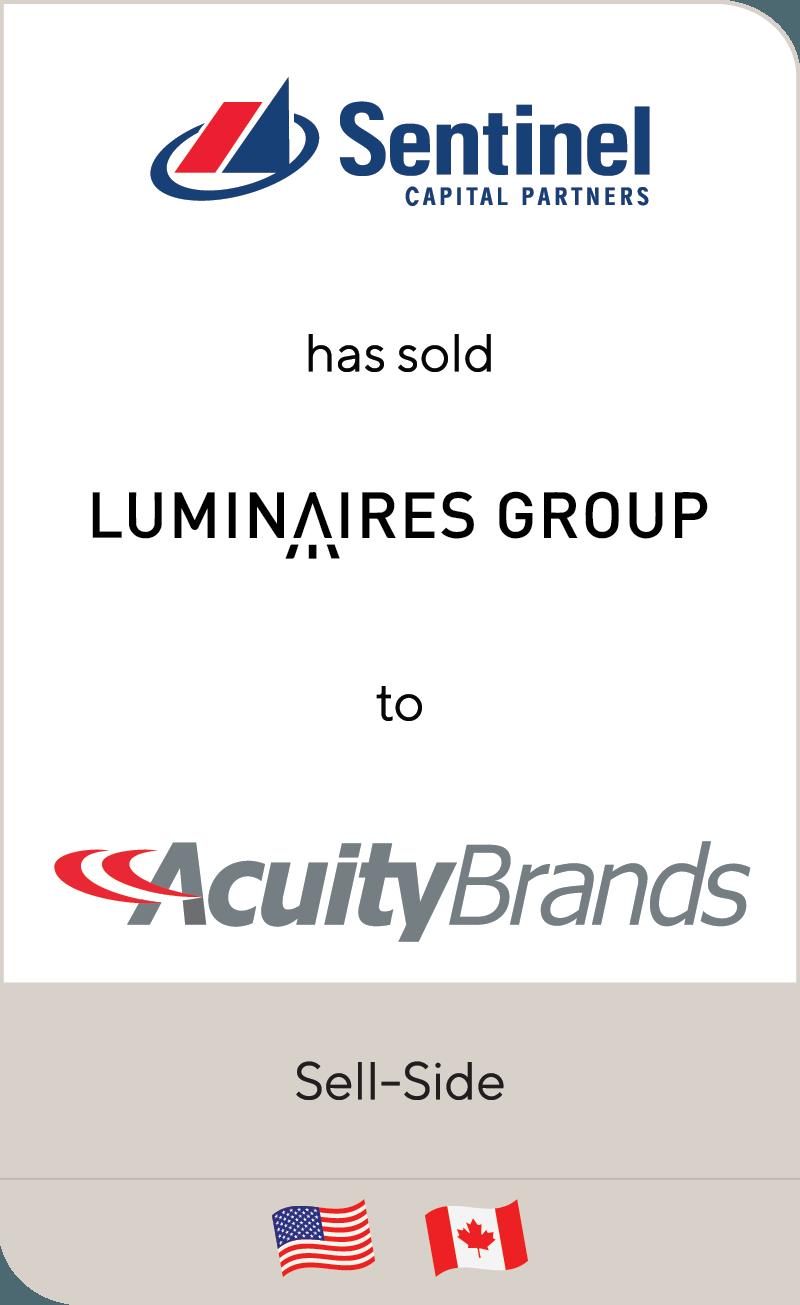 Sentinel Luminaries Acuity 2019