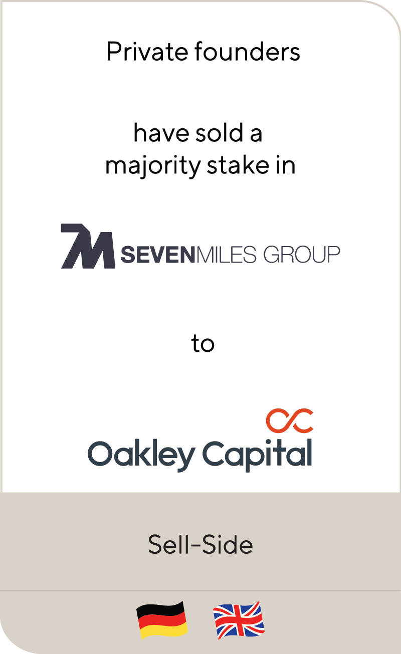 Seven Miles Group Oakley Capital 2019