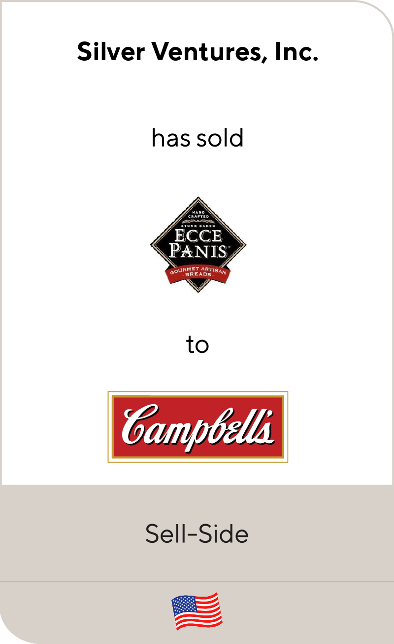 Ecce Panis has been sold to Campbell Soup Company