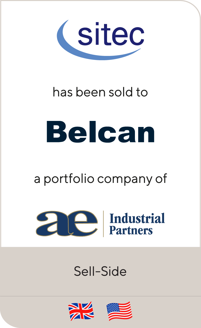 Sitec's Outsourced Engineering and Technical Recruitment businesses have been sold to Belcan