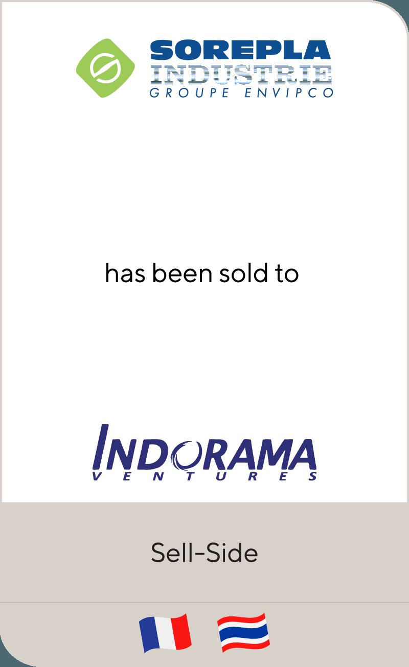 Sorepla Industrie has been sold to Indorama Ventures