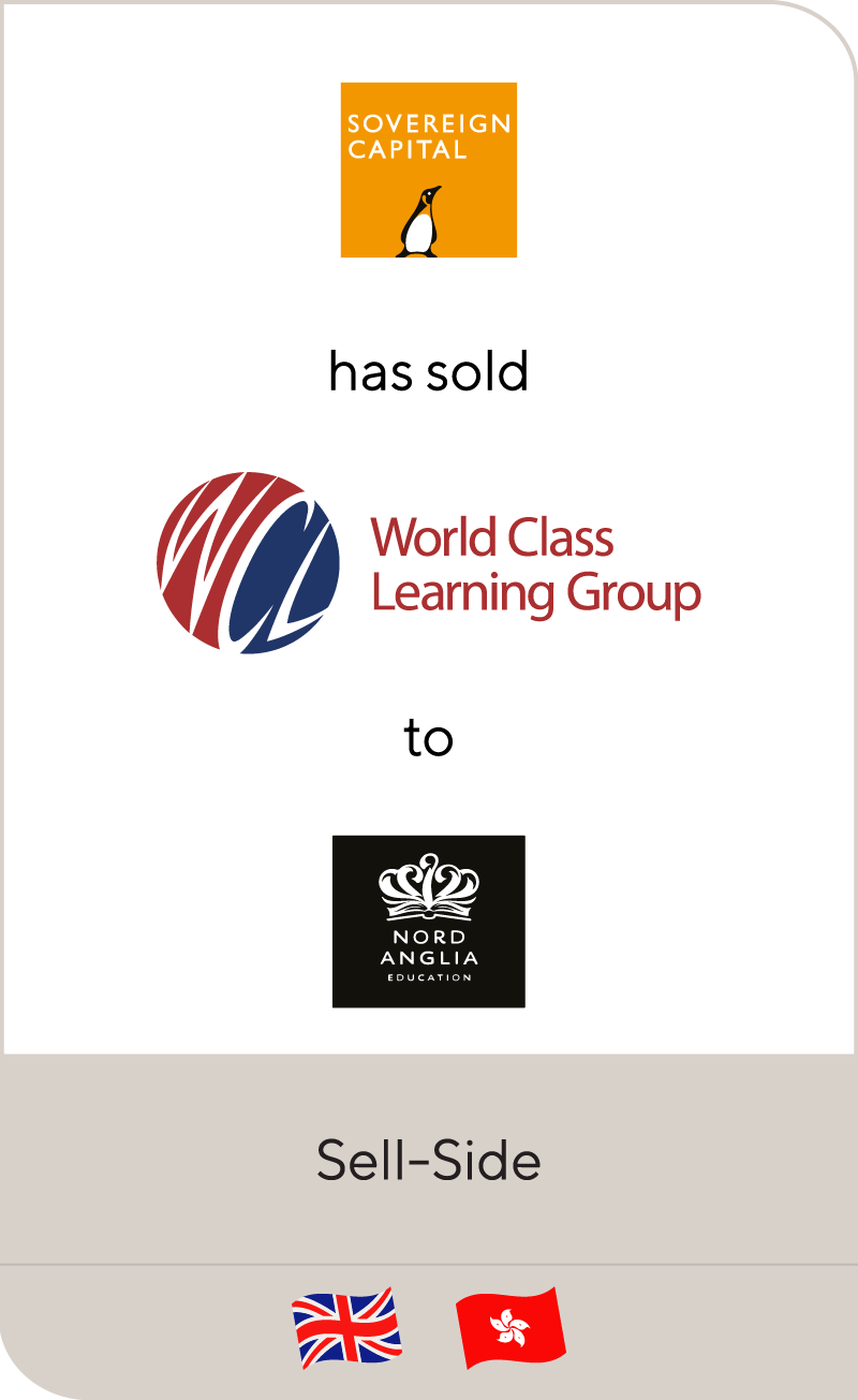 Sovereign Capital has sold World Class Learning to Nord Anglia Education