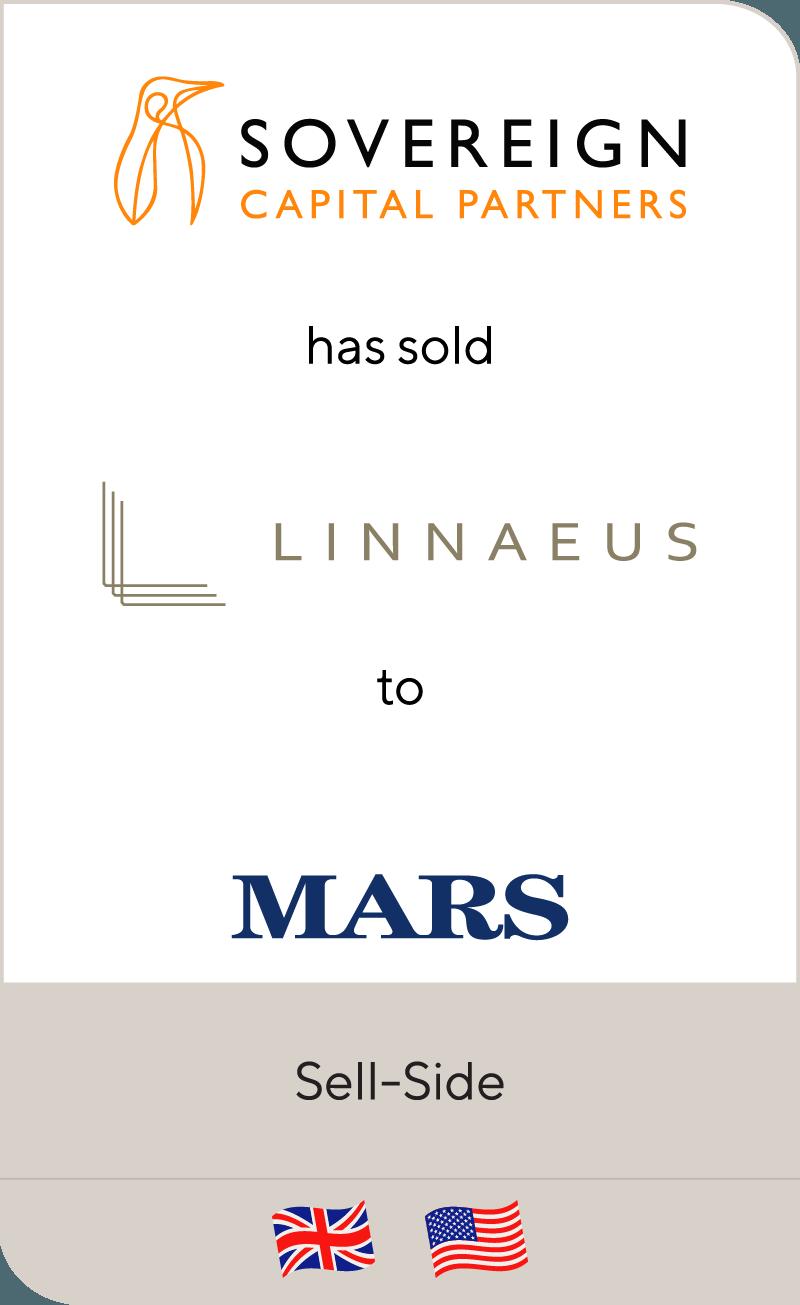 Sovereign Capital has sold Linnaeus Group to Mars