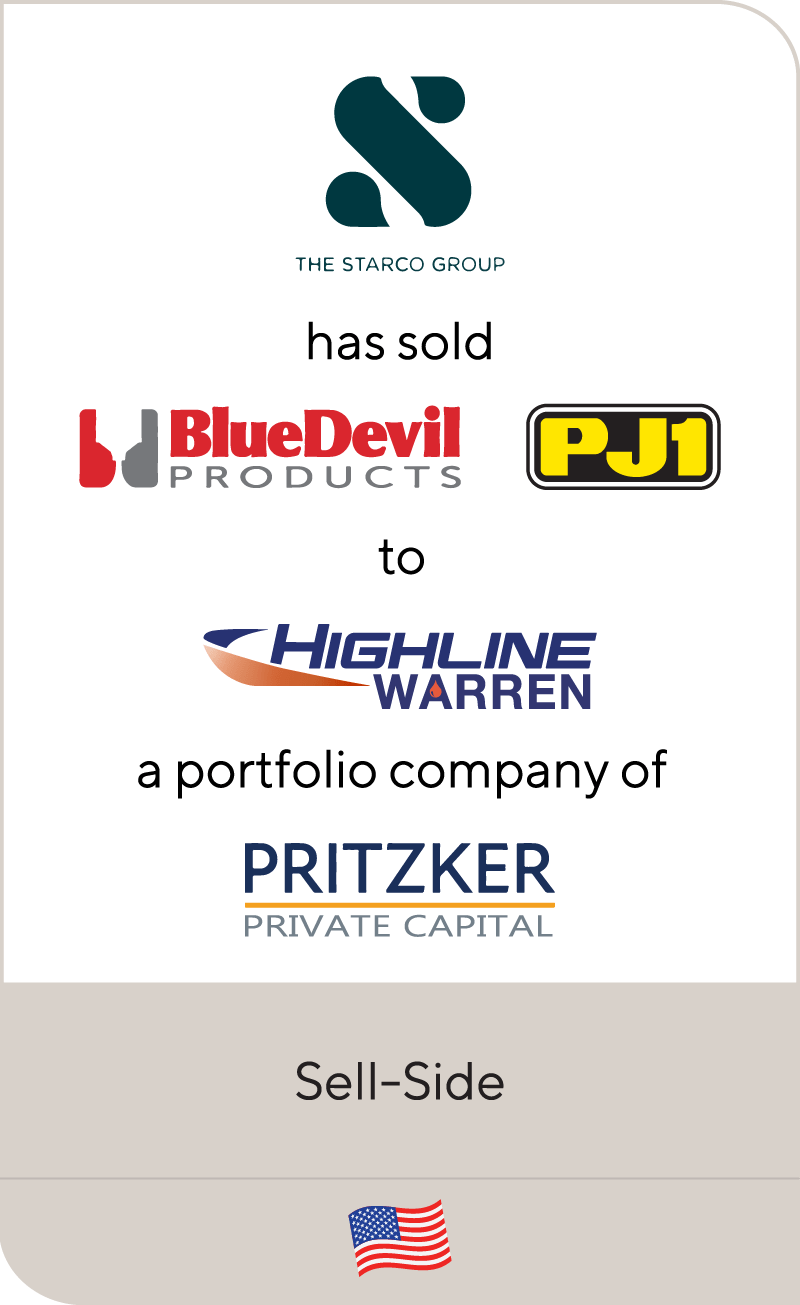 Starco Blue Devil PJ1 Highline Warren Pritzker Private Capital 2020