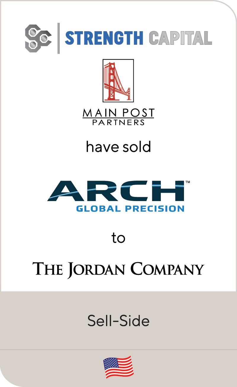 Strength Capital Main Post Arch Jordan 2019
