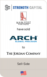 ARCH Global Precision has been sold to The Jordan Company