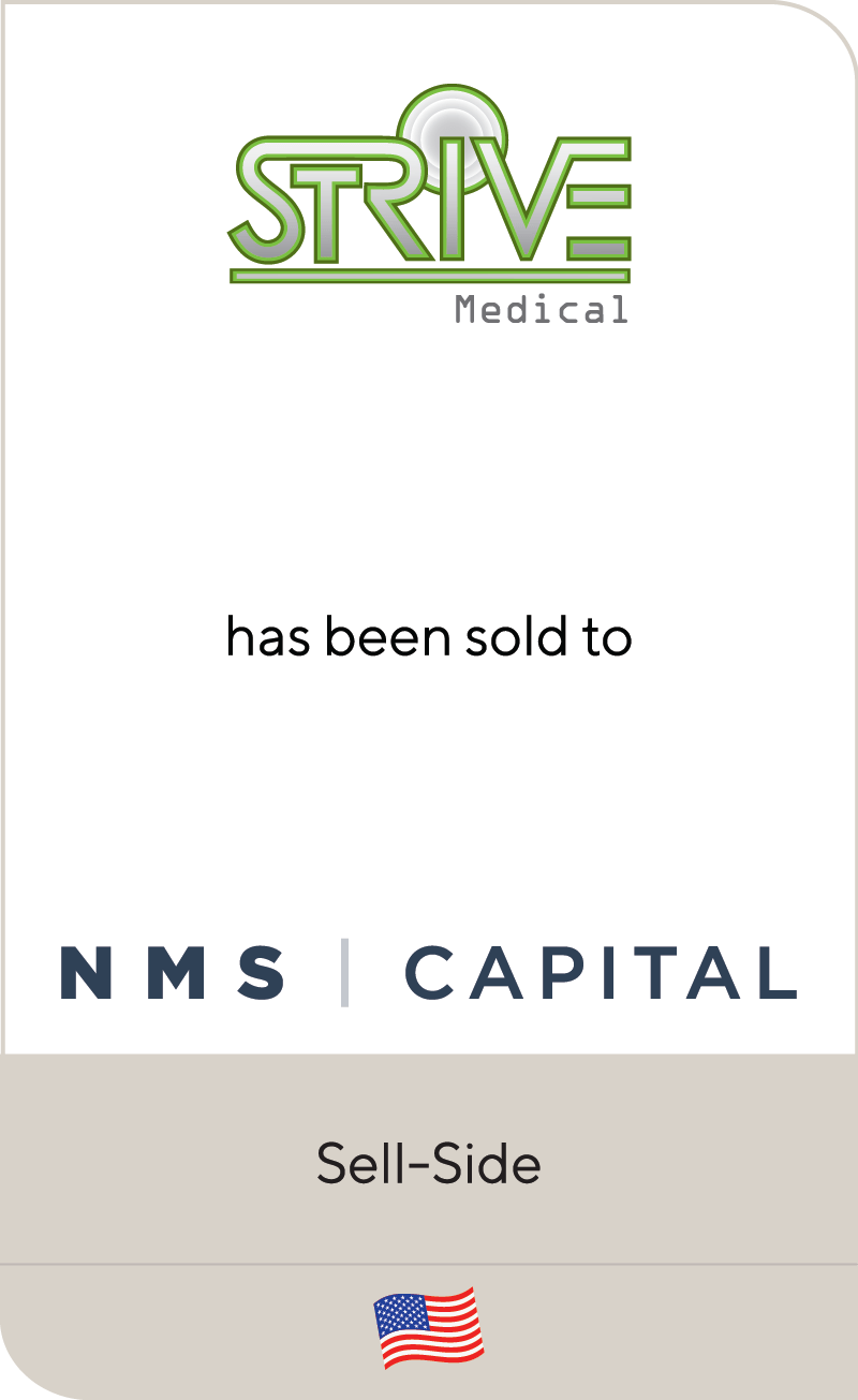 Strive Medical NMS Capital 2020