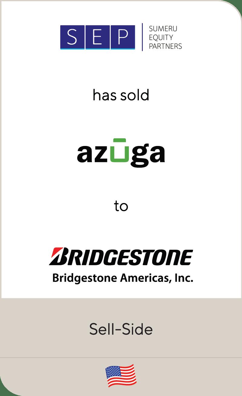 Sumeru Equity Partners SEP Azuga Bridgestone 2021