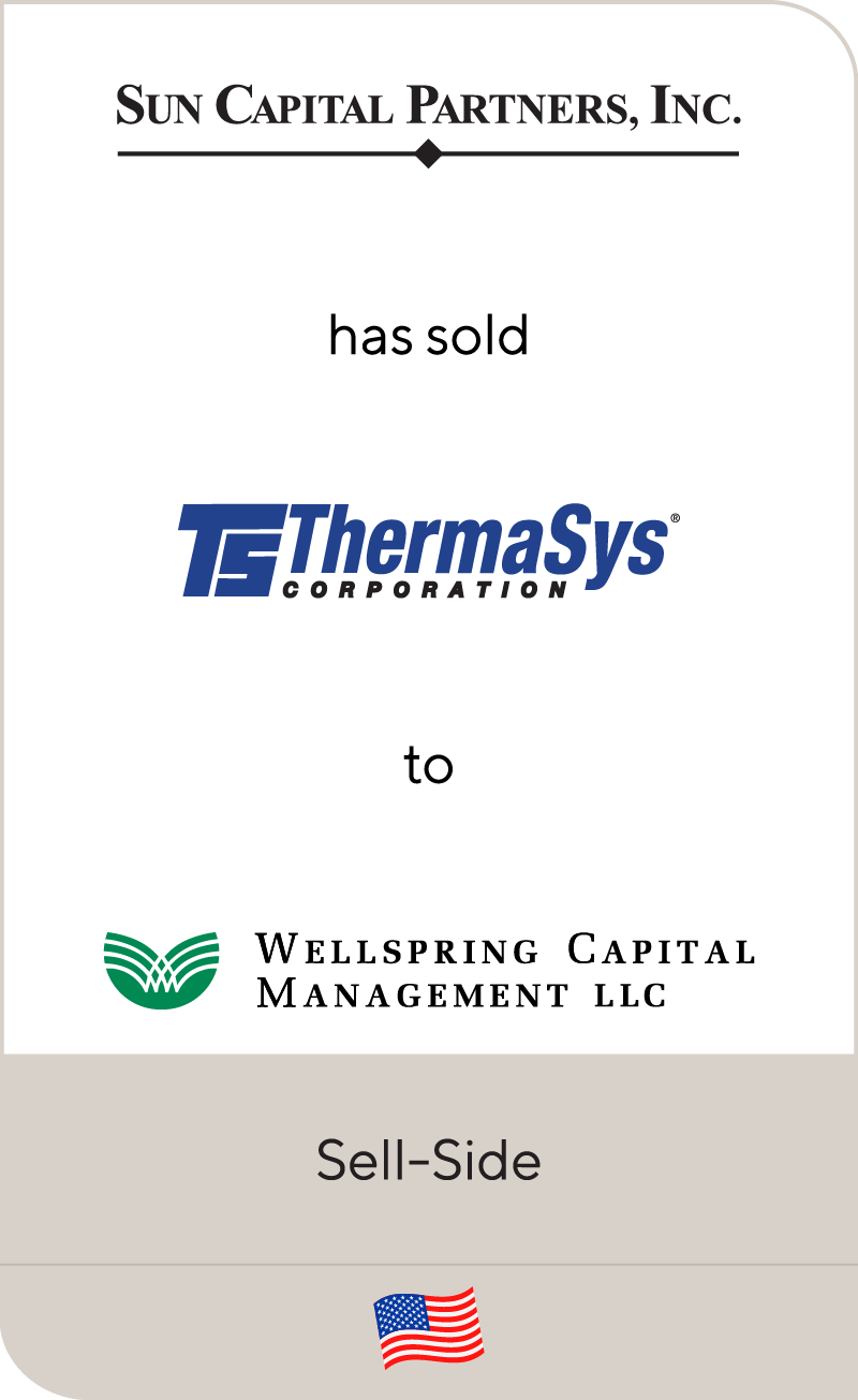 Sun Capital Partners ThermaSys Corporation Wellspring Capital Management (YEAR)