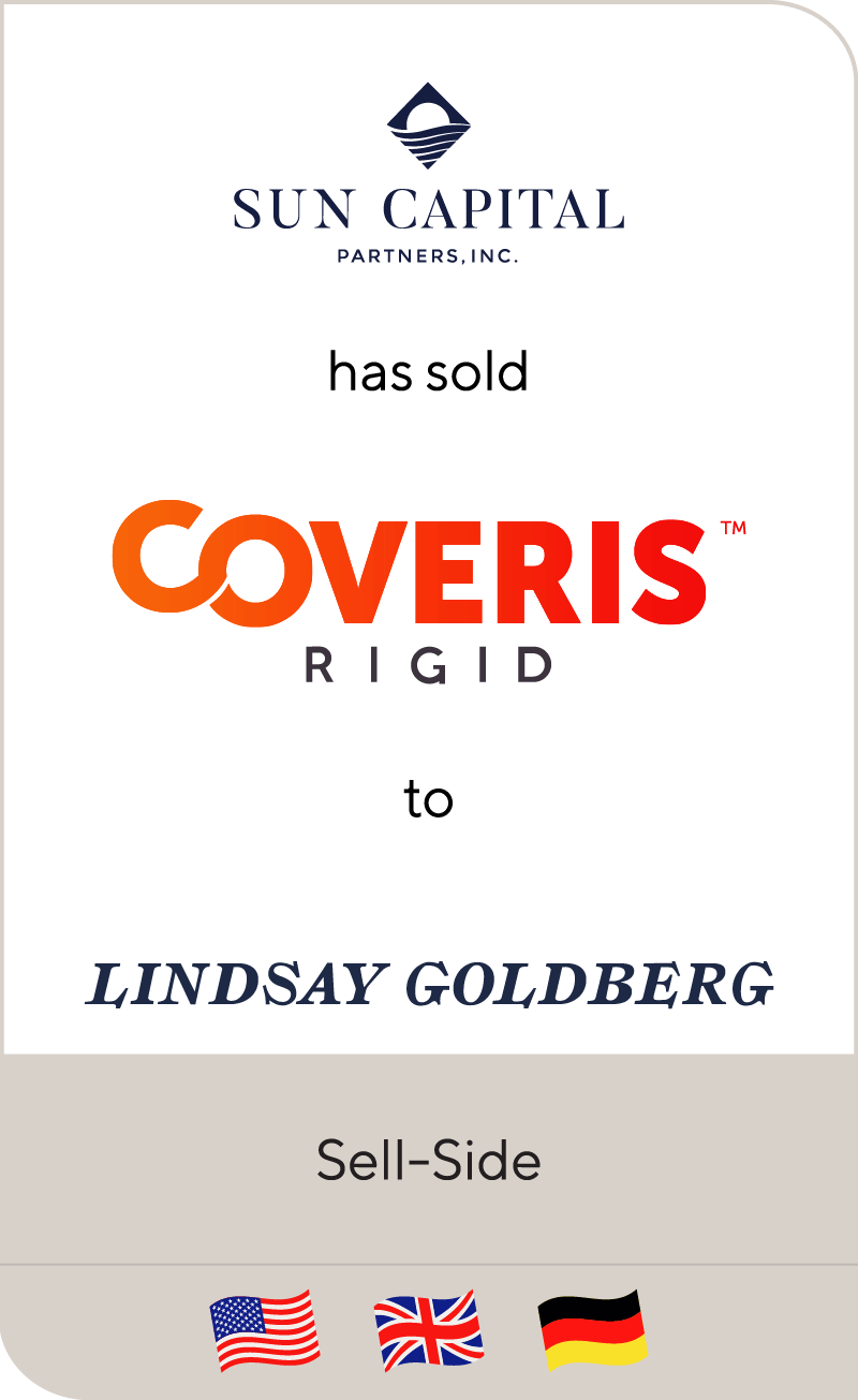 Sun Capital Coveris Rigid Lindsay Goldbert 2018