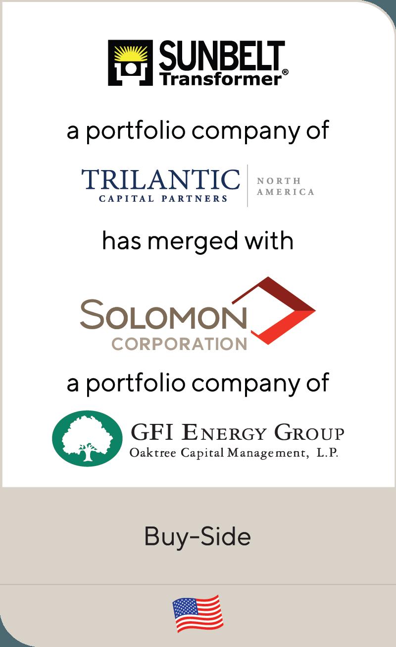 Sunbelt Transformer merges with Solomon Corporation