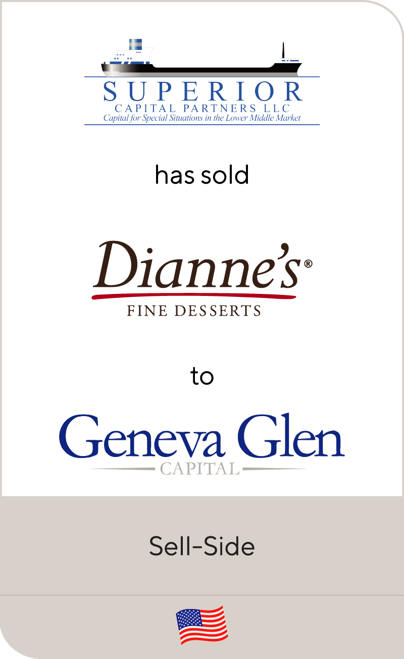 superior capital partners has sold dianne s fine desserts to geneva