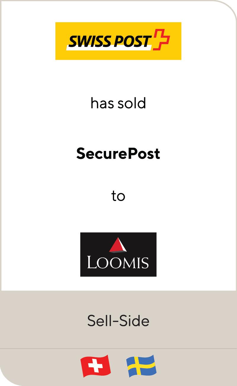 Swiss Post Die Schweizerische Post SecurePost Loomis 2021