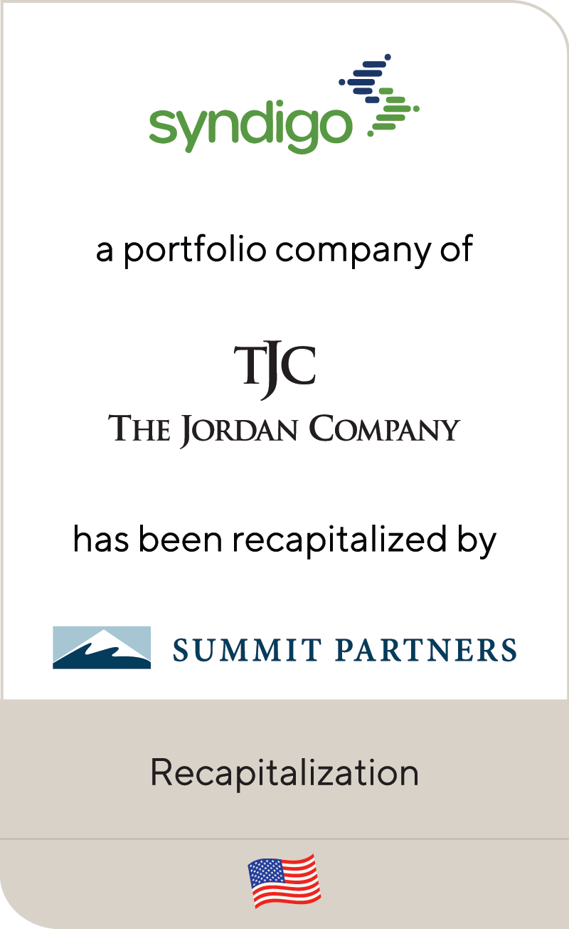 Syndigo Jordan Company Summit Partners 2020