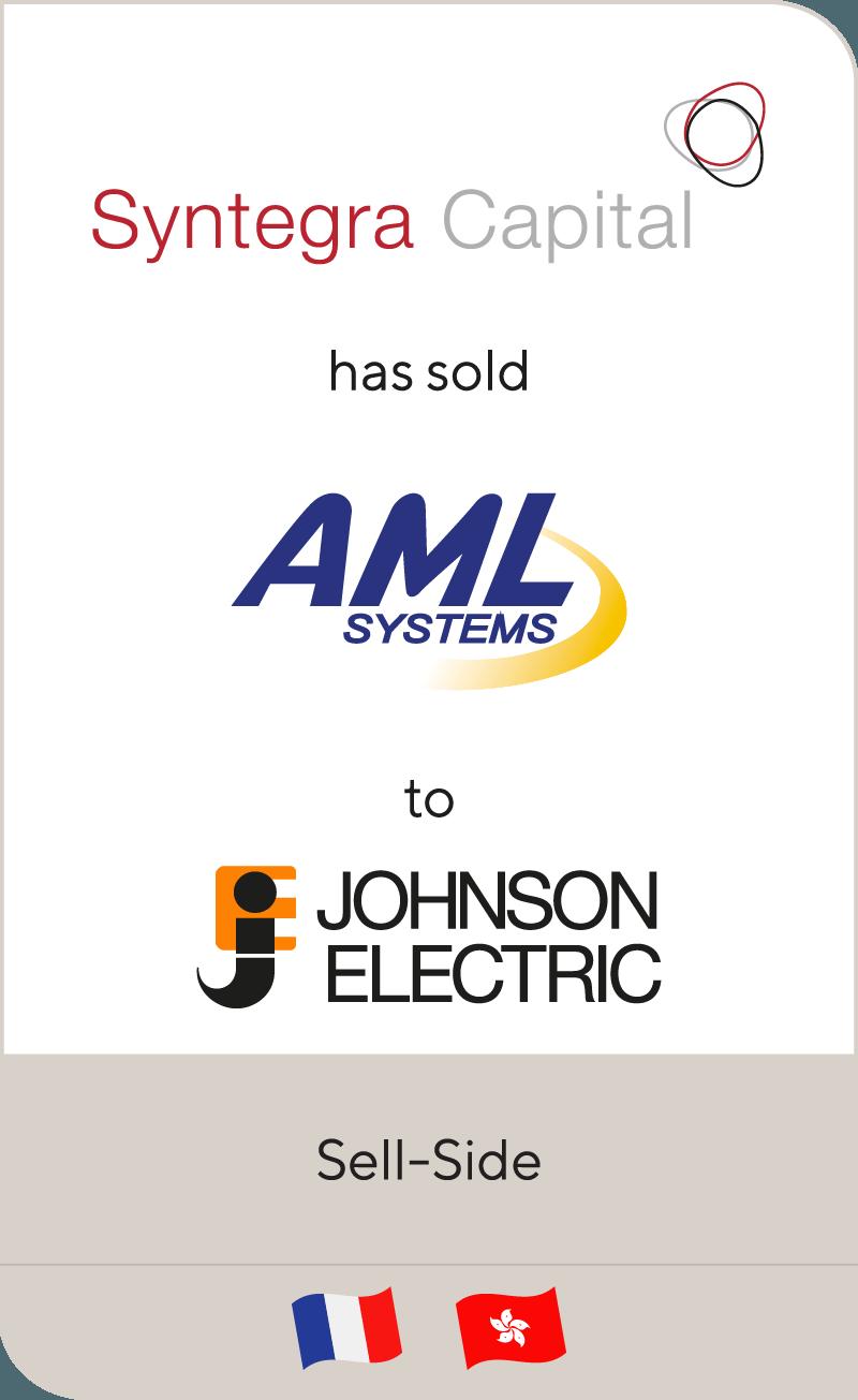 Syntegra AMLSystems JohnsonElectric 2016