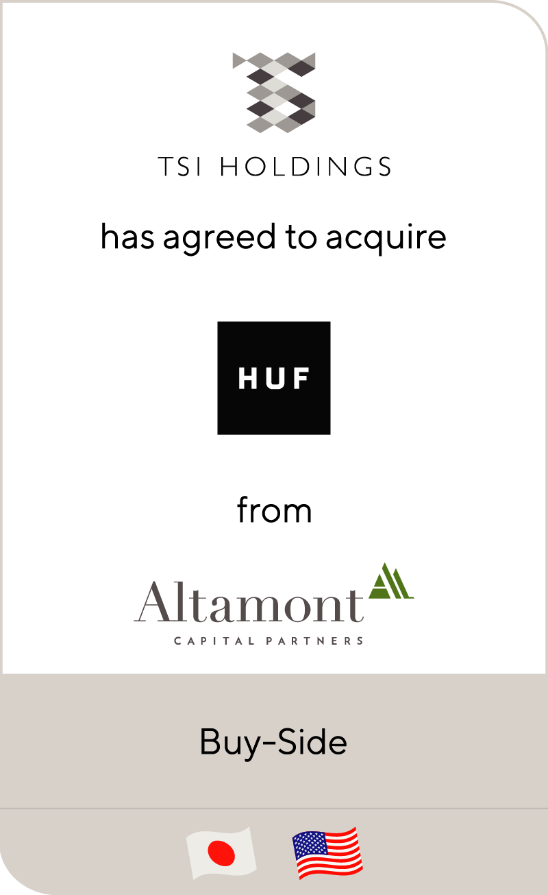 TSI Holdings has acquired HUF Holdings