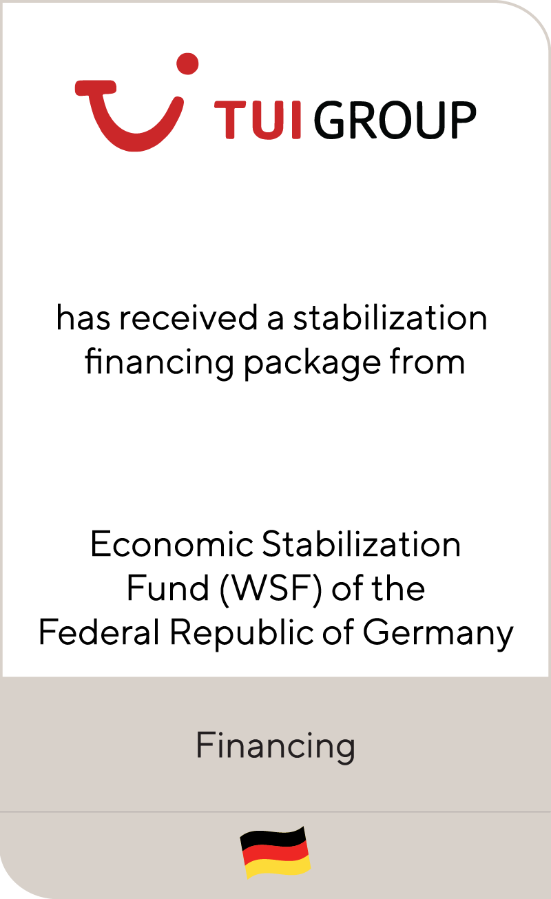 TUI Group Economic Stabilization Fund WSF 2020