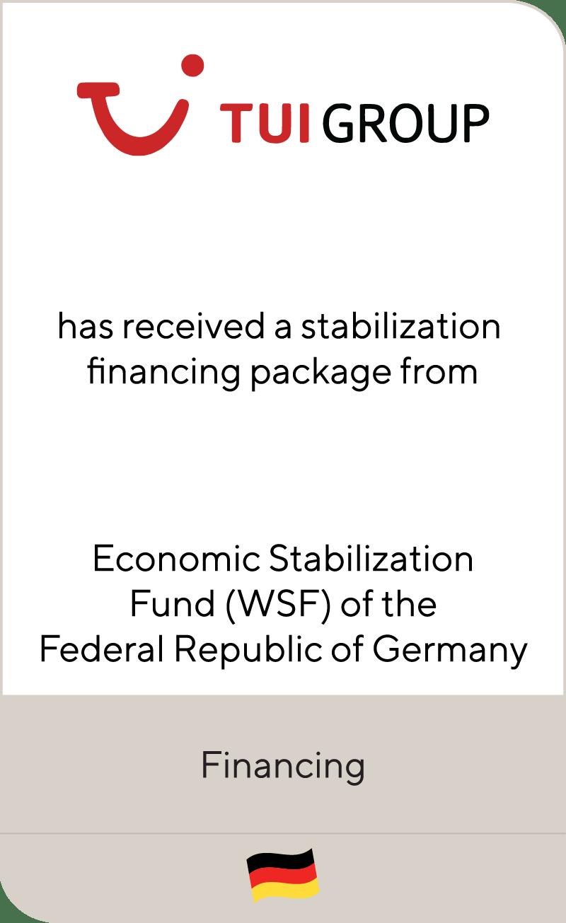TUI Group Economic Stabilization Fund WSF 2020