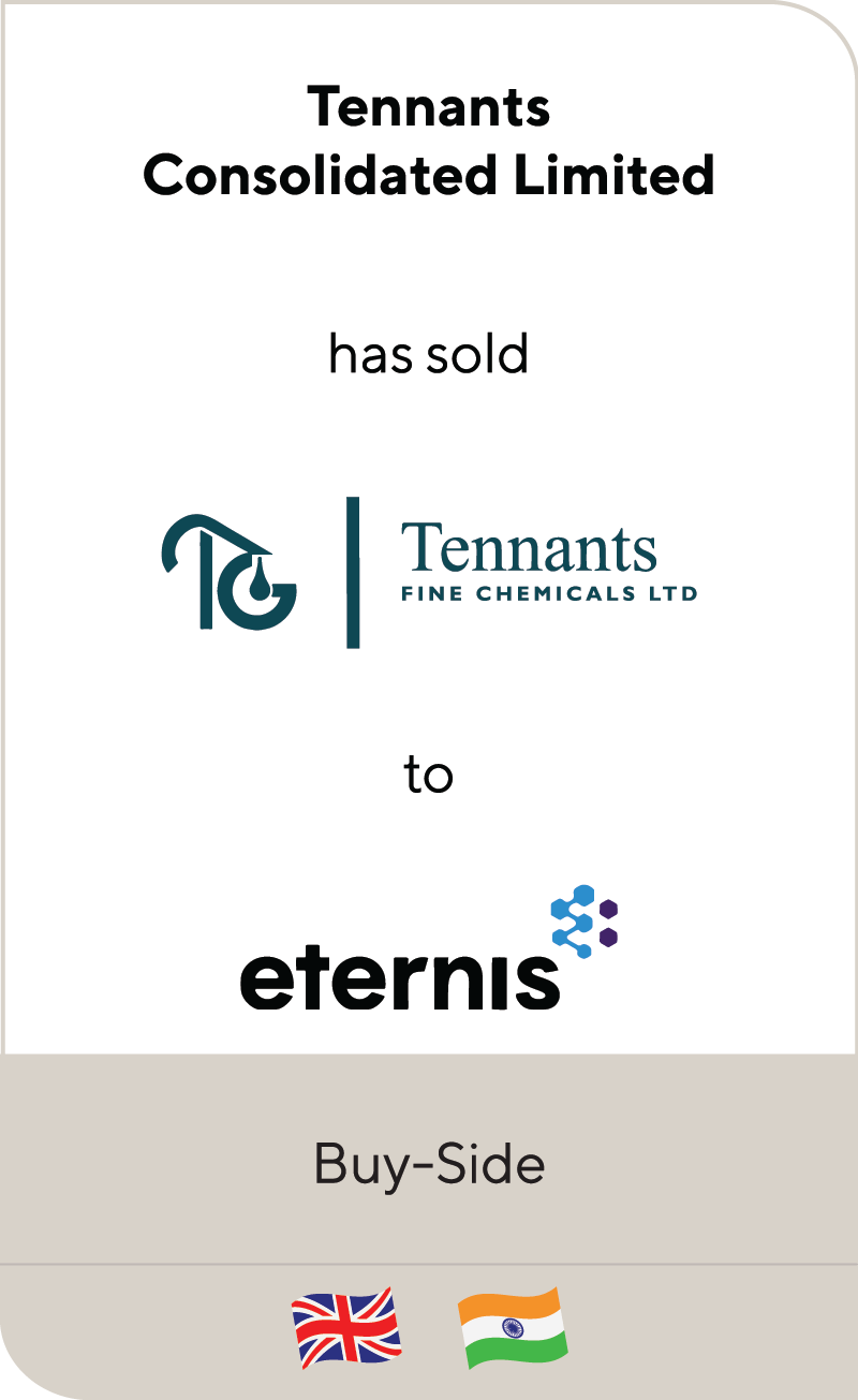 Tennants Consolidated Tennants Fine Chemical Eternis 2021
