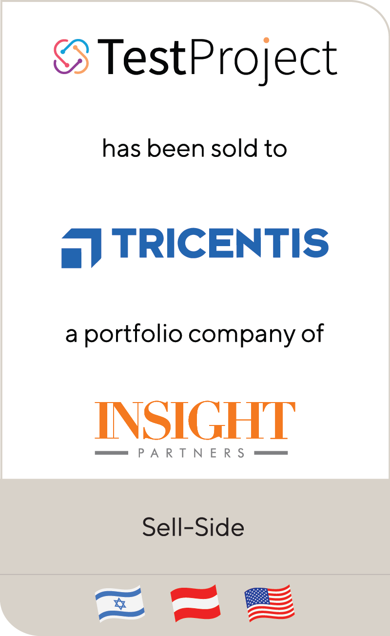 TestProject I Tricentis Insight Partners 2019