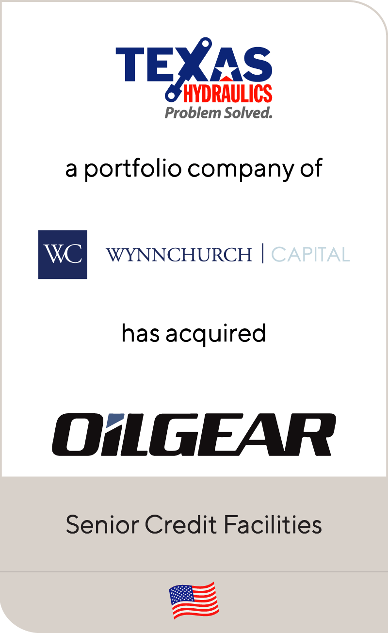 Texas Hydraulics, a portfolio company of Wynnchurch Capital, has acquired Oilgear