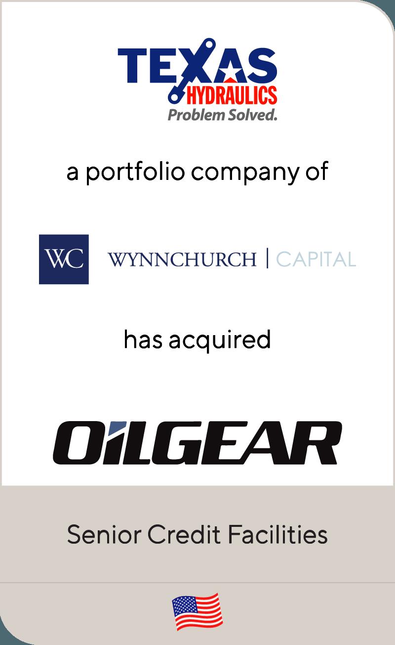 Texas Hydraulics, a portfolio company of Wynnchurch Capital, has acquired Oilgear