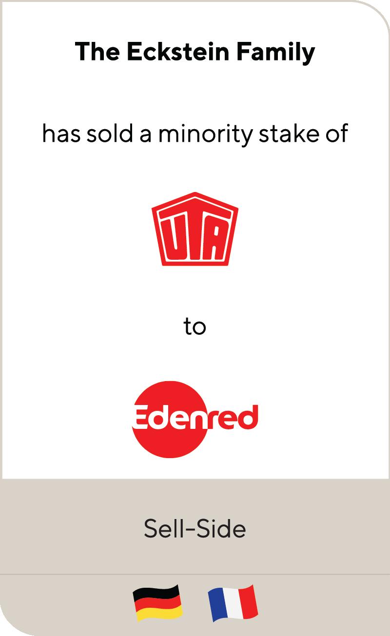 The Eckstein Family UTA Edenred 2020