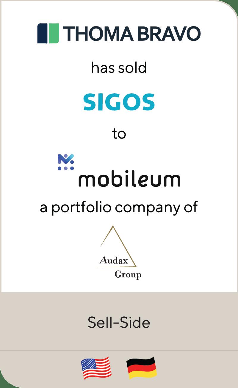 Thomabravo Sigos Mobileum Audax Group 2020