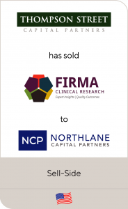 Firma Clinical Research has been sold to Northlane Capital Partners
