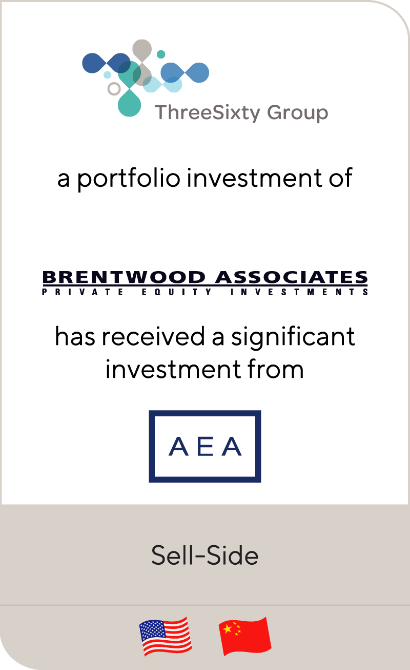 ThreeSixty Group has received a significant investment from AEA Investors