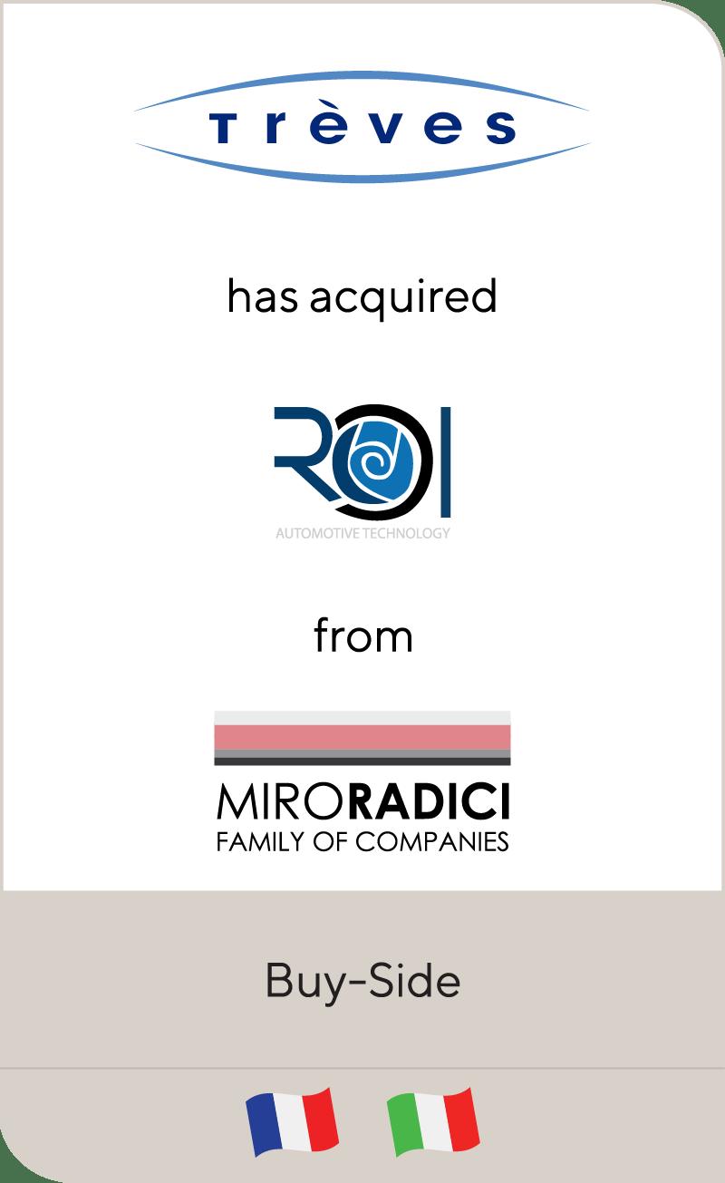 Treves ROI Miro Radici Family Of Companies 2021