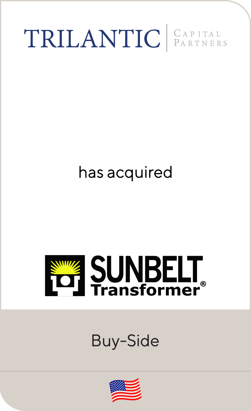 Trilantic Capital Partners has acquired Sunbelt Transformer