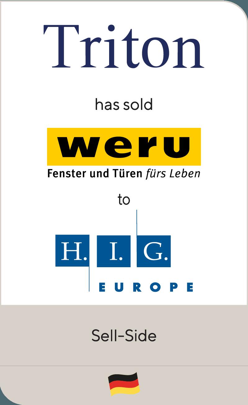 Triton Weru HIG Europe (YEAR)