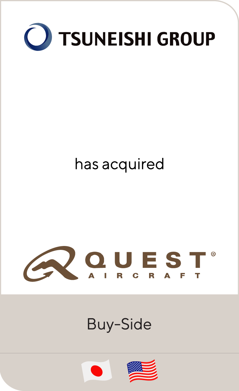 Setouchi Holdings has acquired Quest Aircraft Company