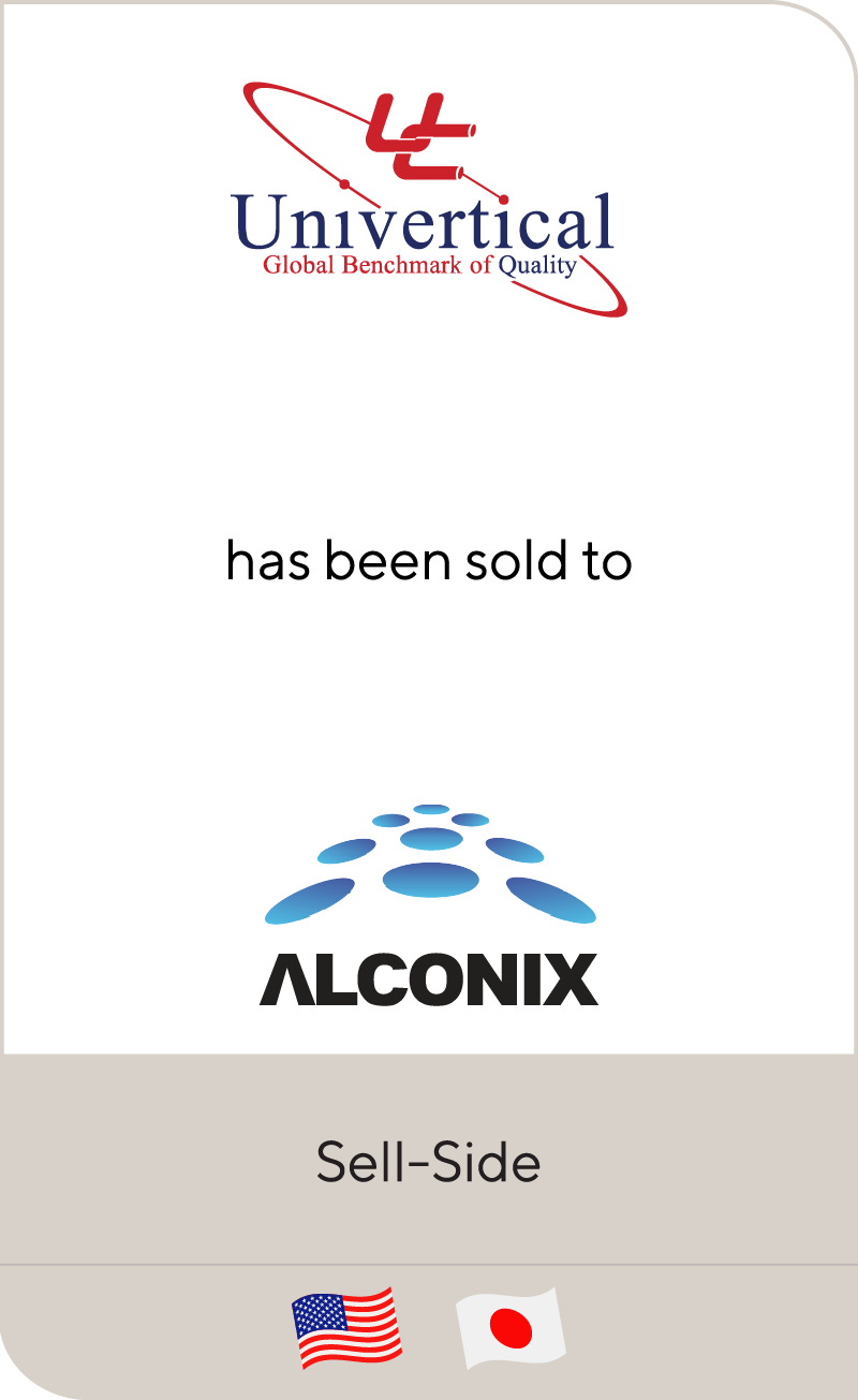 Univertical has been sold to Alconix