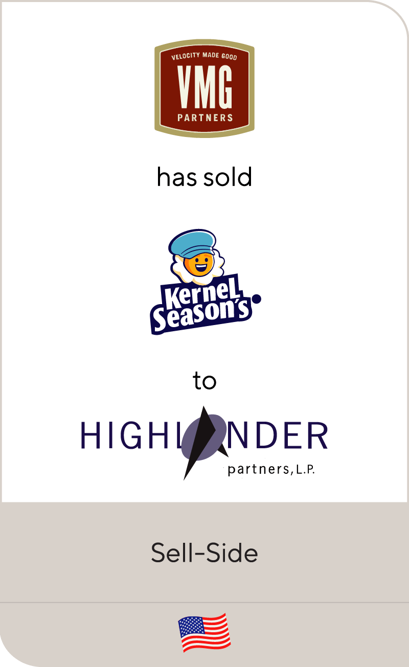 VMG Partners has sold Kernel Season's to Highlander Partners